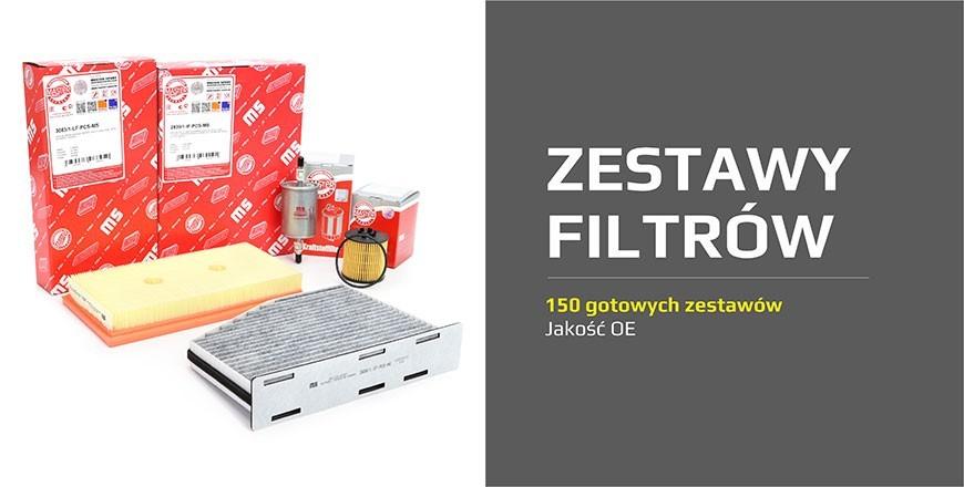 ZESTAWY FILTRÓW - 150 gotowych zestawów | Jakość OE